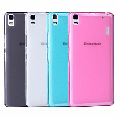AU4.99 • Buy TPU Gel Silicone Soft Matte Jelly Grip Case Back Cover For Lenovo K3 Note A7000