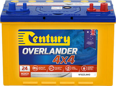 AU299 • Buy New Century Overlander 4x4 12v735cca Battery N70zzlxhd