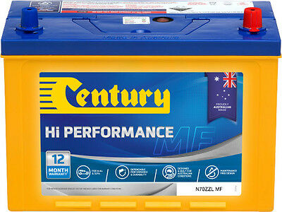 AU223 • Buy New Century 4wd 12v720cca  Battery N70zzl Mf