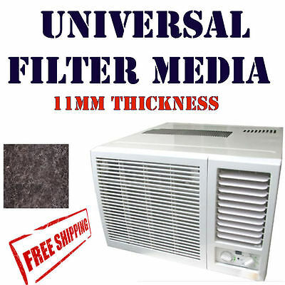 AU18.99 • Buy Wall / Window Room Air Conditioner Filter Universal AirCon 340 X 488 Mm Size