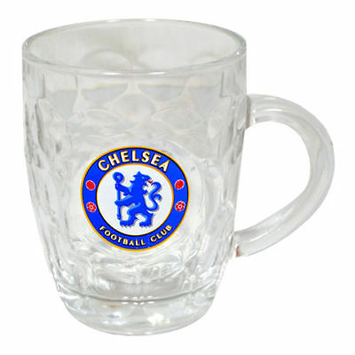 Chelsea FC Pint Tankard Glass Gift Football Fan Christmas Birthday Official  • 9.75£