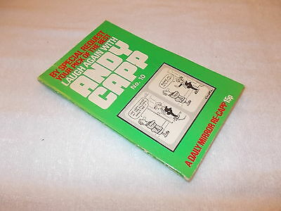 Paperback Book Andy Capp - Laugh Again With Andy Capp No. 10 • 6£