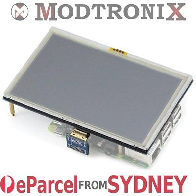 AU44.95 • Buy 5  Inch LCD Touch Screen HDMI Display 800*480 Raspberry Pi 3&2, EParcel Sydney
