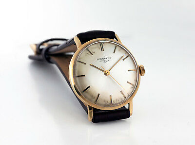 $ CDN950 • Buy Man's Vintage 1964 18kt Gold Longines Cal. 280 Ref. 7785/2037 Swiss Made Watch
