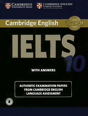 £30.33 • Buy NEW Cambridge IELTS 10 Student's Book With Answers With Audio By Cambridge Eng L