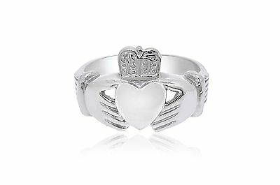 $335.75 • Buy 14K White Gold Irish Claddagh Ring 10000528