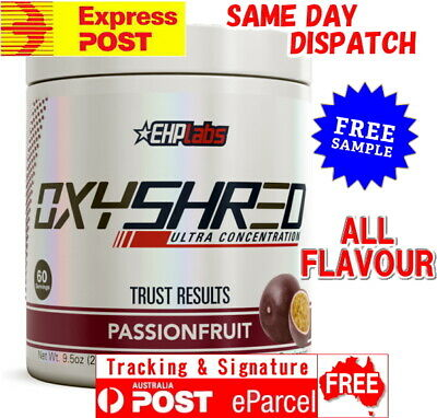 AU79.95 • Buy EHP Labs OXYSHRED FREE EXPRESS AUS POST EHPLABS OXY SHRED Thermogenic Fat Burner
