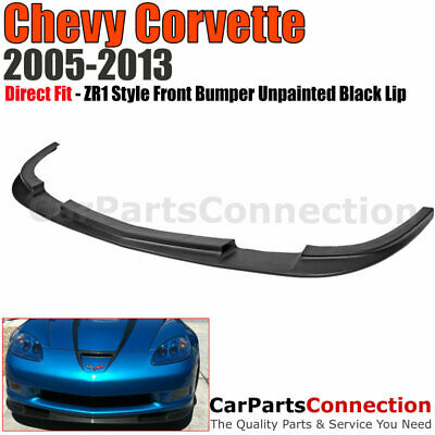 $165 • Buy 05-13 Chevy Corvette C6 Z06 ZR1 Style Front Bumper Lip Spoiler Grand Sport Coupe