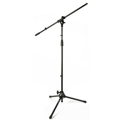 Microphone Stand With Boom Arm & Mic Holder Live Sound Stage Performer PA Bands • 35.99£