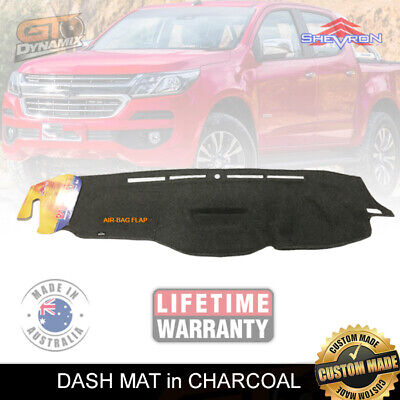 AU69.95 • Buy Dash Mat Holden Colorado Rg My17 Ls-lt-ltz-z71 8/2016-19 No-hud Dm1443 Charcoal