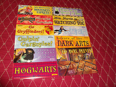 $3.50 • Buy LOT OF 12 HARRY POTTER  8.5'' X 3 '' LARGE STICKERS OOP,VHTF