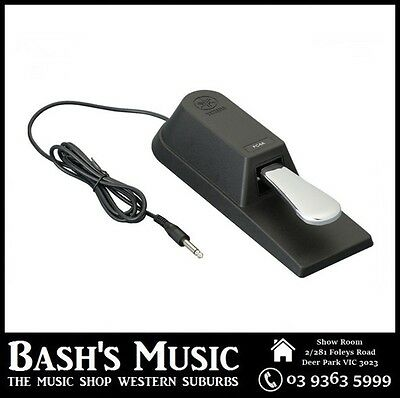 AU84.99 • Buy Yamaha FC4A Sustain Foot Pedal For Digital Pianos Keyboards Synthesizers – NEW