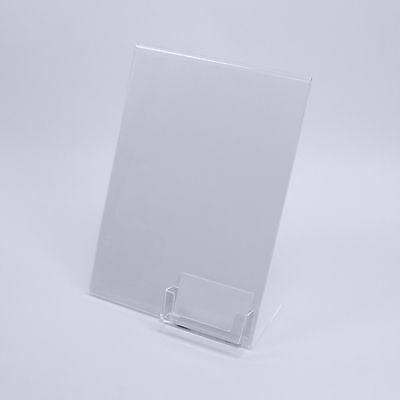£8.75 • Buy A4 Poster And Menu Stand With Business Card Holder | Counter Top Stand