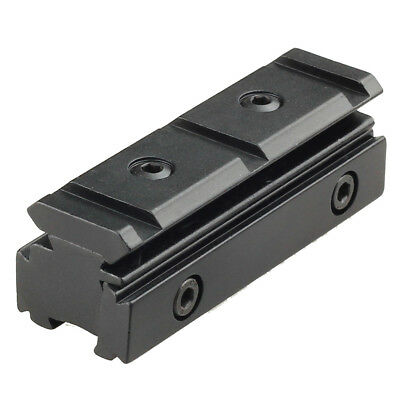 Scope Mount Rail 11mm Converter To 20mm Conversion Adapter • 6.99£