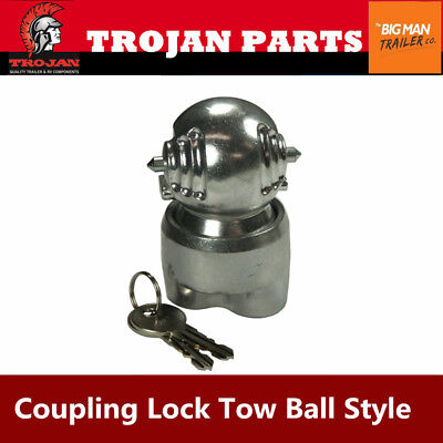AU42 • Buy Trojan Trailer Coupling Lock Hitch Ball Expanding Style Universal For Caravan UB