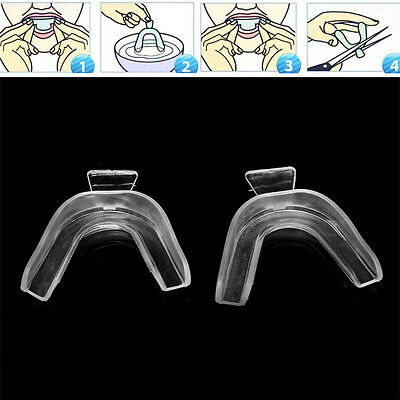 AU1.19 • Buy Thermoforming Mouth Care Tooth Whitening Bleaching Guard Tray  Dental Teeth 2Pcs