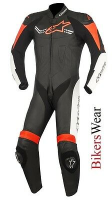 $640.22 • Buy Alpinestars Challenger V2 Leather 1PC One Piece Motorcycle Race Suit Orange/Fluo