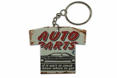 Keyring Vintage Car Auto Parts Jersey Printed • 8.99£