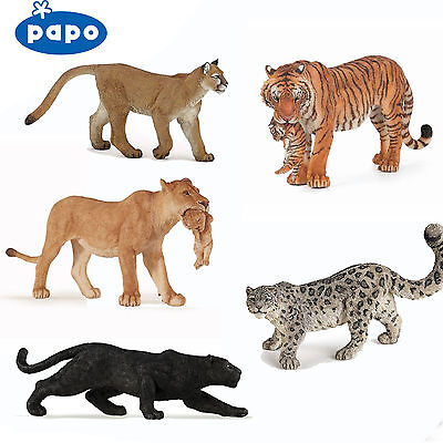 £5.99 • Buy PAPO Wild Animal Kingdom TIGERS LIONS LEOPARDS ETC - Choose For 23 All With Tags
