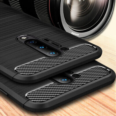 AU4.80 • Buy For OnePlus 8 Pro 7T 6 5T Hybrid Slim Shockproof Soft Rubber Brushed Case Cover