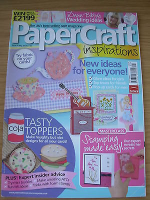 Papercraft Inspirations Craft Magazine May 2008 Cards Stamping Farmyard Boxes • 4.99£
