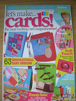 Lets Make Cards Craft Magazine Issue 11 63 Insprirational Designs Cards & More • 5.99£