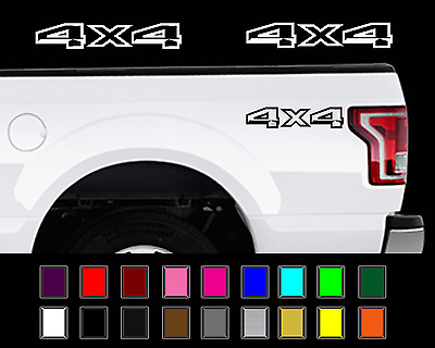 $12.37 • Buy 2015 - 2017 Ford F-150 4x4 Truck Bed Decal Set Vinyl Stickers
