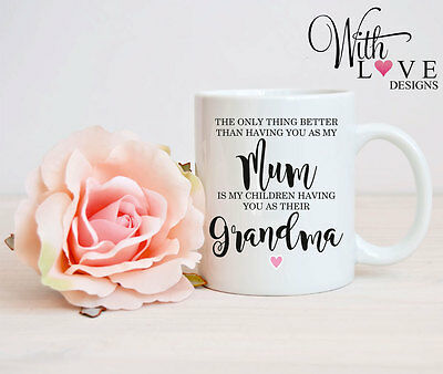 Mum Grandma Nanny Nan Coffee Mug Tea Cup Birthday Personalised Gift Mothers Day • 6.75£
