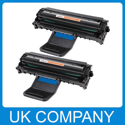 2 Black Toner Cartridge For Samsung SCX4321 SCX4521F ML1610 • 16.99£