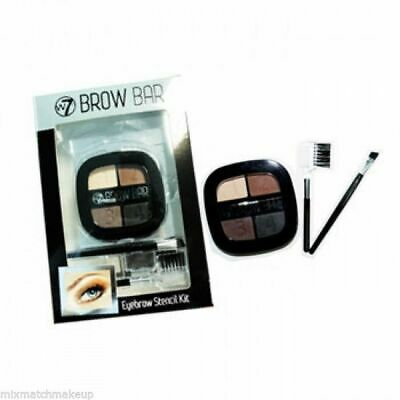 W7 Brow Bar Eyebrow Stencil Kit  Includes Powder, Comb And Brush • 3.79£