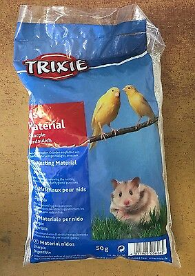 £3.99 • Buy Canary Nesting Material Finch Budgie Etc Nest Material & Hamsters TRIXIE 50g