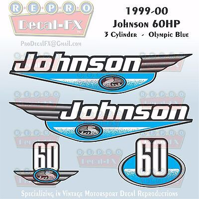 johnson outboard decals 60