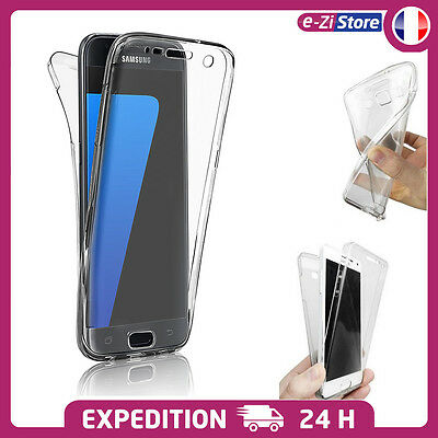 $ CDN7.69 • Buy Coque Silicone IntÉgrale Housse Protection Samsung Galaxy S10 S9 S8 S7 S6 Edge