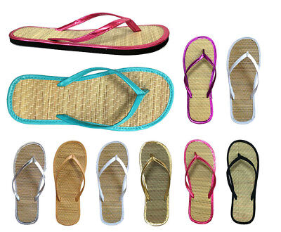 £49.39 • Buy Wholesale Lot 48 Pairs Nice And Simple Women's Bamboo Flip Flop Sandal 13 Colors