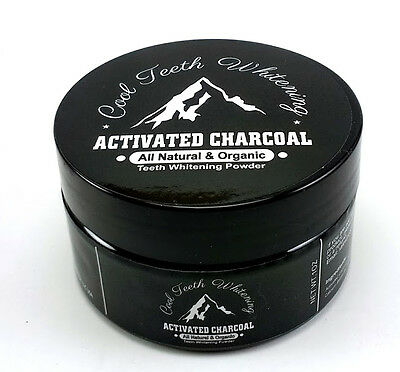 AU13.10 • Buy Cool Teeth Whitening Natural Organic Activated Charcoal Toothpaste Powder Vegan