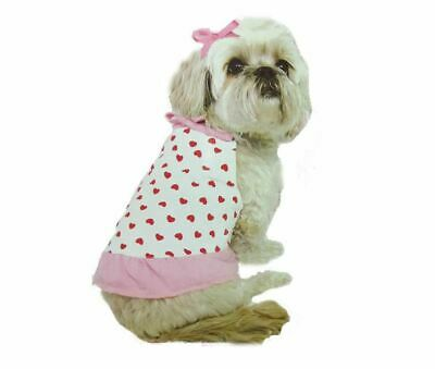 £2.49 • Buy Dog Shirt Small Terrier Clothes Puppy Glamour Dog Outfit