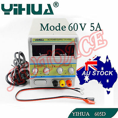 AU126.89 • Buy Power Supply Linear Adjustable Variable  Mode 60V 5A Fan Cooling Electronic Test