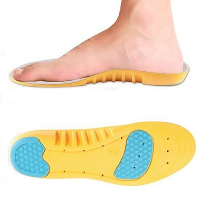 Ladies Memory Foam Support Orthotics Arch Shoe Insoles Pads UK Size 2.5-3.5 • 4.99£