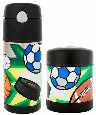 AU45.95 • Buy NEW Thermos Funtainer Food Container + Drink Bottle Insulated Lunch Multisports