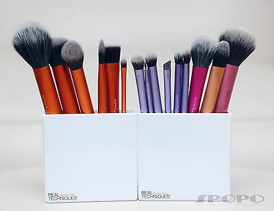 AU8.95 • Buy Assorted Real Techniques Face Eye Makeup Brush Buffing Contour Foundation Crease