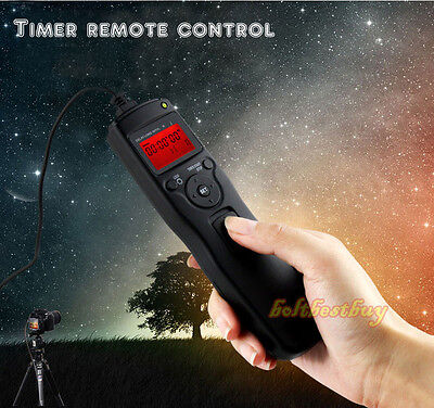 AU28.99 • Buy Time Lapse Intervalometer Timer Remote Shutter For Sony A7S A7R A7 A6000 A3000