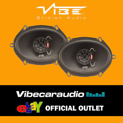 Ford Fusion 2003- Vibe Slick 57 V7 240 Watts 2 Way 5x7 Coaxial Speakers • 48.95£