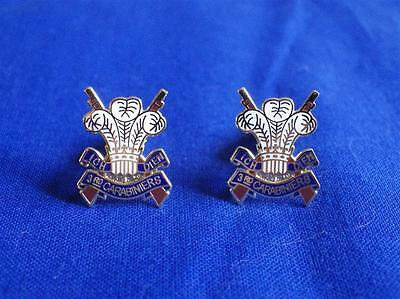 3rd CARABINIERS ( PRINCE OF WALES'S DRAGOON GUARDS ) CUFF LINKS • 16.57£