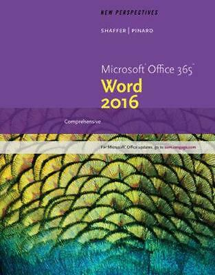 AU142.95 • Buy New Perspectives Microsoft Office 365 & Word 2016: Comprehensive By Ann Shaffer