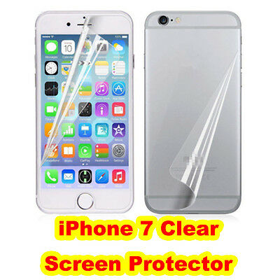 AU3.49 • Buy 3 X IPhone 7 Screen Protector Clear Front And Back