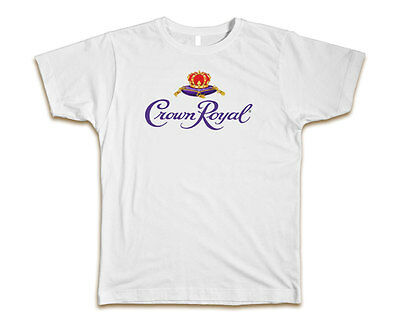 $14.99 • Buy Crown Royal Custom Mens T-Shirt Tee S-3XL New-White