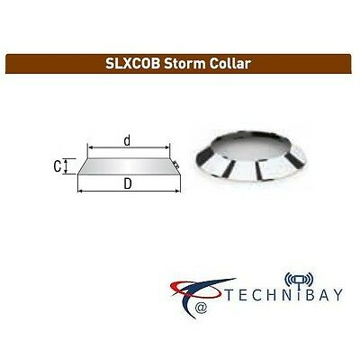 Solinox SLXCOB 350mm Storm Collar For Chimney Flue Pipe Double Wall Insulated • 18.99£