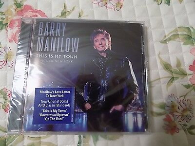 Barry Manilow - This Is My Town: Songs Of New York [CD New] • 8.58£