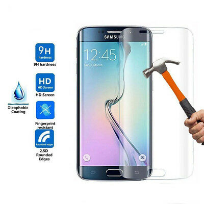$ CDN9.20 • Buy Samsung Galaxy S7 Edge  Full Screen Cover Tempered Glass Protector CLEAR
