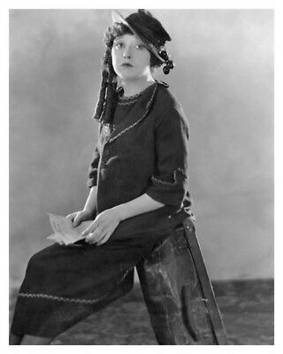 $29.24 • Buy Silent Movie Actress Comedienne Mabel Normand Celebrity Silver Halide Photo